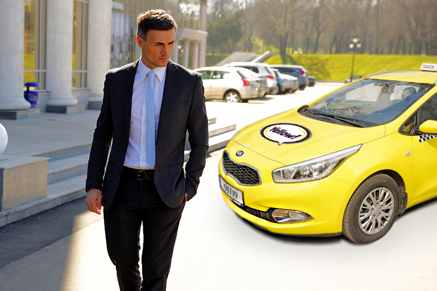 Order a taxi from Yellow Taxi